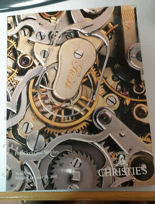 CHRISTIES Fine Clocks and Watches