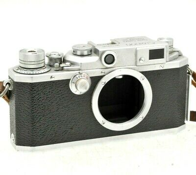 Canon IID2 /2d2 RARE 1955 Japanese Rangefinder Camera. 179518. In Case