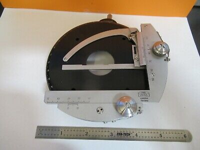 Carl Zeiss Germany Pol Stage Clips Table Microscope Part As Pictured &3K-A-22