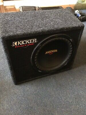 Kicker Sub Woofer 12 Inch And Amp 2 Ch