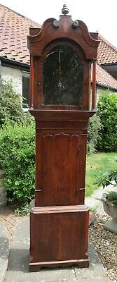 Big Manchester Style Longcase Case for 14 by 20 inch Dial. 91 inches High