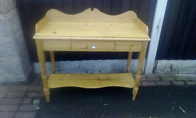 Antique Victorian  Pine Wash Stand Dressing Table