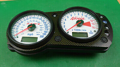 Kawasaki ZX9R E1 E2 2000-2001 Clock, speedometer, gauges