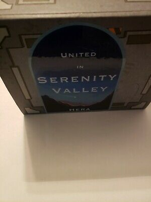 Firefly Loot Crate United in Serenity Valley HERA unopened box complete set