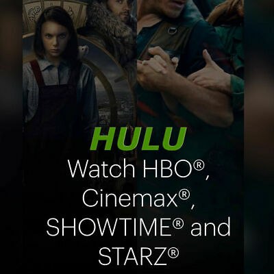 Hulu Premium Account (No Ads-HBO-Showtime-Cinemax-Live Tv) / 12 Month Warranty R
