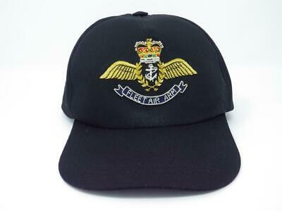 BLKTD ROYAL NAVY SUBMARINERS SERVICE BASEBALL CAP WITH A BULLION WIRE BADGE