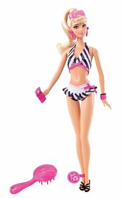 Barbie Then and Now 1959-2009 50th Anniversary Bathing Suit Doll - P6508