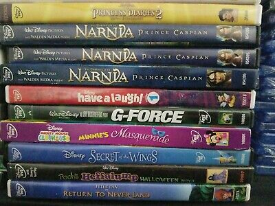 YOU Pick any 3 for 10! Disney DVD Movies! Wholesale Lot - Kids & Family! SAVE!