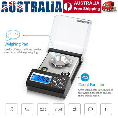 20g/0.001g 50g/0.001g Digital Milligram Scale Electronic Balance Powder Scale AU