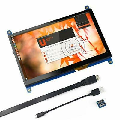 Jun_Electronic For Raspberry Pi 7 inch Capacitive Touch Screen HDMI Monitor -
