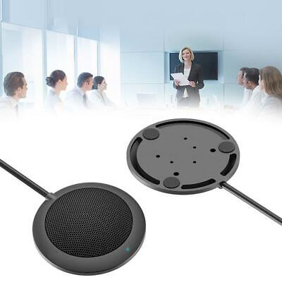 Desktop USB Microphone Condenser Omnidirectional Conference Wired Meeting Hot