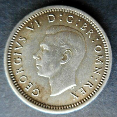 Great Britain 1942 Three Pence, Uncirculated