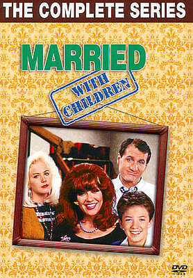 Married... With Children: The Complete Series (DVD, 2011, 32-Disc Set) Like New