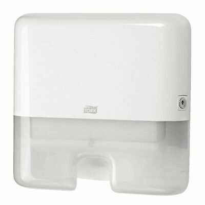 New Tork H2 Elevation 552130 Towel Dispenser Multifold Mini - White Abs Plastic