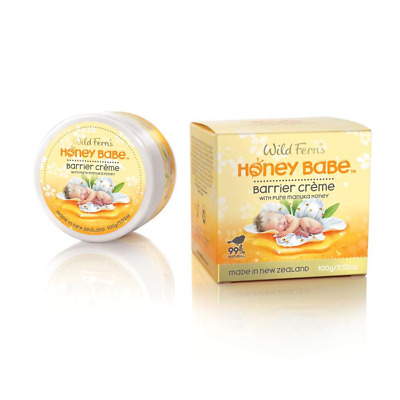 Wild Fern's Barrier Creme with Pure Manuka Honey 100g