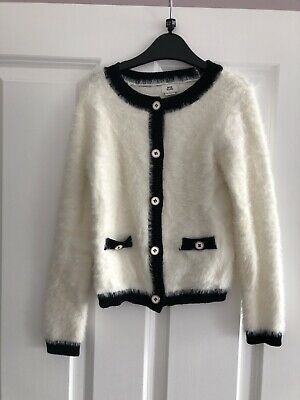Girls River Island Cardigan Age 7-8