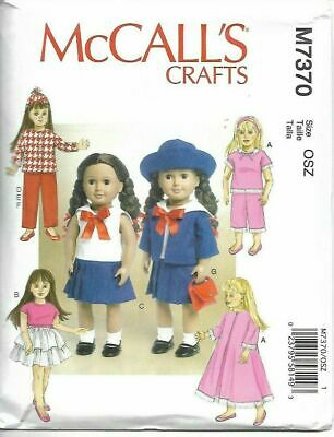 "Marsha Olson 14/"" Betsy McCall Swedish Dress Pattern UNCUT"