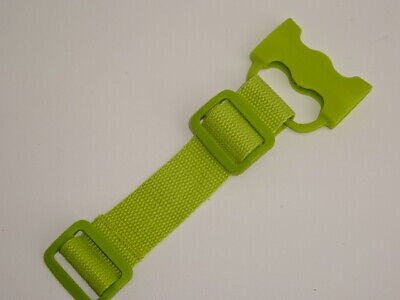 iCandy Peach Blossom Crotch Buckle clip Harness/Strap Belt Green Lime sweet Pea