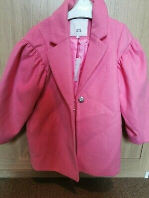 River Island Girls Coat Age 5 BNWT
