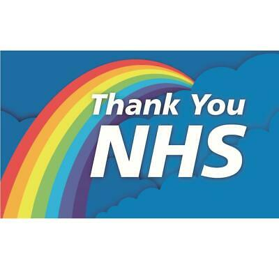 Thank You NHS Flag 5FT X 3FT, Direct Donation to NHS