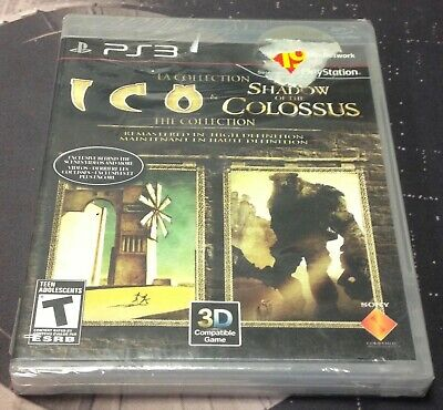 Ico & Shadow of the Colossus The Collection (Sony PlayStation 3) PS3 SEALED NEW