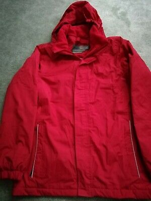 Girls Red REGATTA Coat / Waterproof / Jacket / Rain Coat Age 12-13Years