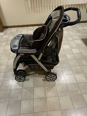 Chicco Cortina Cubes Standard Single Seat Stroller Rattania Color