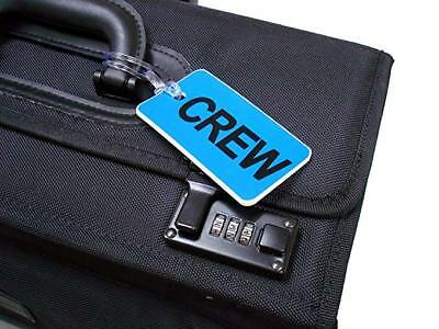 GelFlex Double Sided Airline Crew Bag Tag