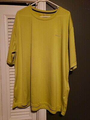 Reebok Mens 100% Polyester dri-fit T-shirt Work out 3XL