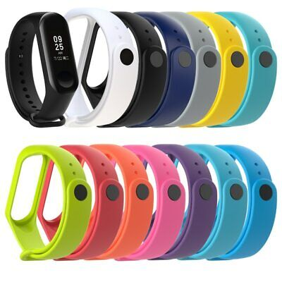 11colors New Replacement Silicone Wrist Strap Watch Band For Xiaomi MI Band 4 3