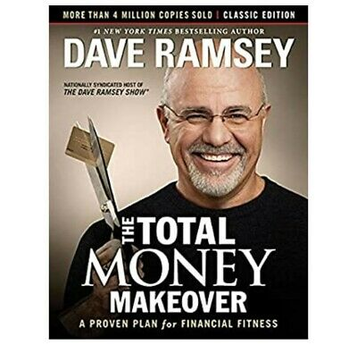 Dave Ramsey - THE TOTAL MONEY MAKEOVER Classic Edition Financial Hardcover BOOK