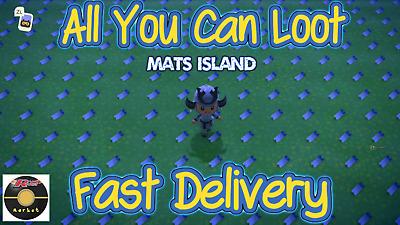 Animal Crossing New Horizons ALL YOU CAN LOOT MATERIALS ISLAND