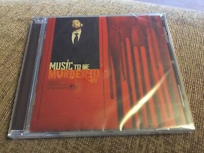 Brand new in packaging.  Eminem cd : Music to be murdered by.