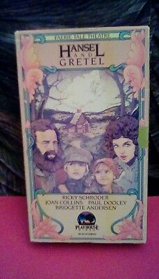 Faerie Tale Theatre - Hansel and Gretel (1982) VHS Ricky Schroder Joan Collins