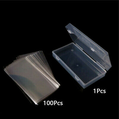 100 Pockets Paper Money Album Collection Banknote Stamps Box Collection Holder