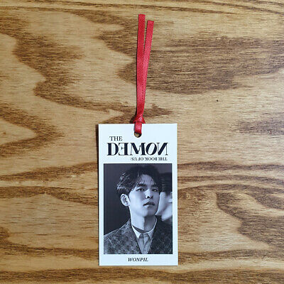 Wonpil Official Bookmark Day6 6th Mini Album The Book of Us : The Demon Kpop