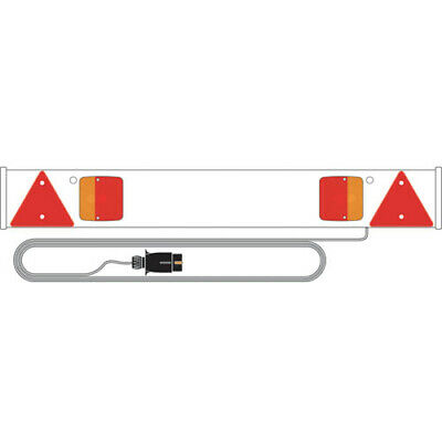 RCT815/P RING AUTOMOTIVE 4FT TRAILER BOARD with 5m Cable and Lights Towing