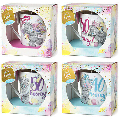 Me to You Tatty Teddy Bear Gift Boxed Mug - Choice of Captions Available