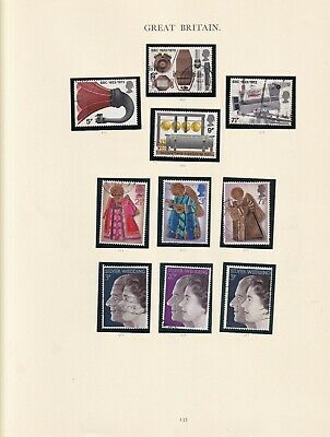 Great Britain - 1972 - SG909 to SG918 - Fine used