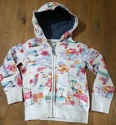 Age 5yrs Girls Zip Hoodie From Next.