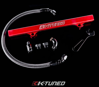 K-Tuned Side Feed Fuel Line Kit for 06-15 Honda Civic Si 8th 9th Gen