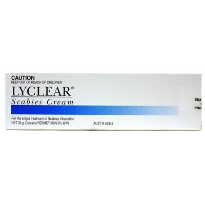 Lyclear Scabies Cream 30G FAST DELIVERY