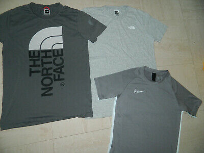 Boys' Genuine THE North Face Clothes Sports wear Bundle T shirt age 12/13 Years