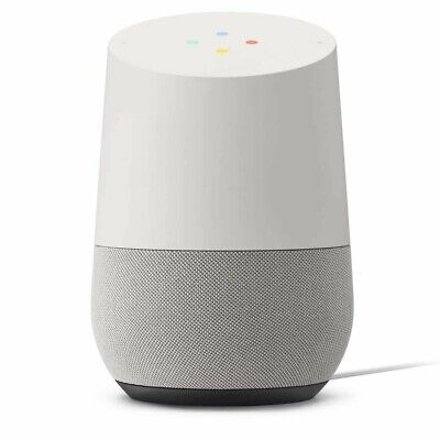 Google Home - Smart Speaker w/ Google Assistant - White/Slate (GA3A00485A03) NEW