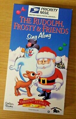 Vintage (1996) The Rudoplh, Frosty & Friends Sing Along (USPS Edition) VHS