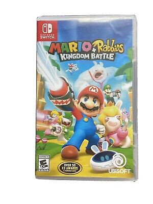 Empty Replacement Case ONLY! Mario + Rabbids Kingdom Battle - Nintendo Switch
