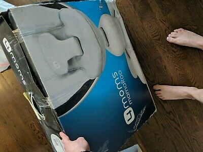 4MOMS MAMAROO 2014 infant seat classic gray with original box