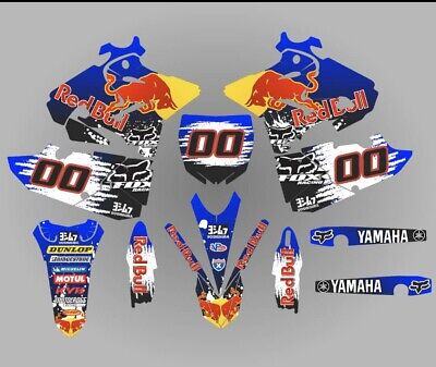 Yamaha Yz 125 250 graphic kit decals stickers 2017-2020