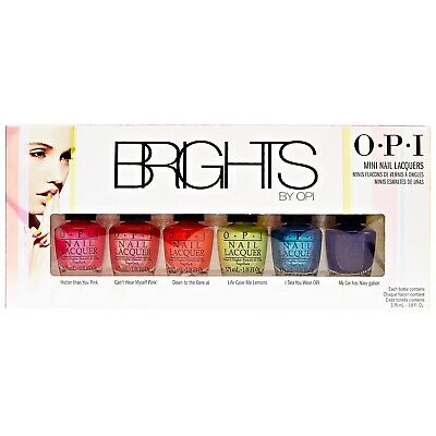 OPI Nail Polish Lacquer BRIGHTS Mini COMPLETE Collection 3.75ml - Free Shipping