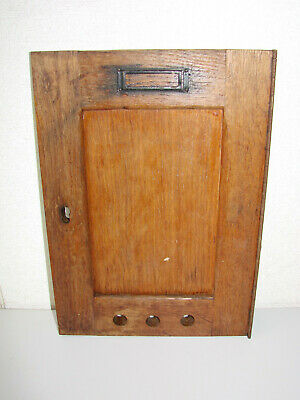 Antique Small Porte Of Box The Letters Oak No ° 2 - Mail Post